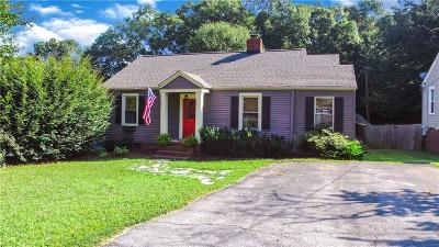 Greenville Single Family Home For Sale: 13 Low Hill Street
