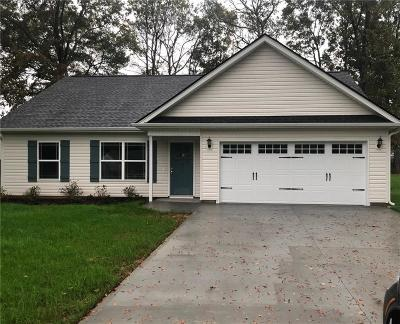 Williamston Single Family Home For Sale: 214 Longview Drive