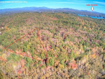 Oconee County, Pickens County Residential Lots & Land For Sale: 00 Fall Creek Road