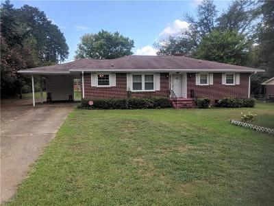 Anderson Single Family Home For Sale: 1212 Bolt Drive