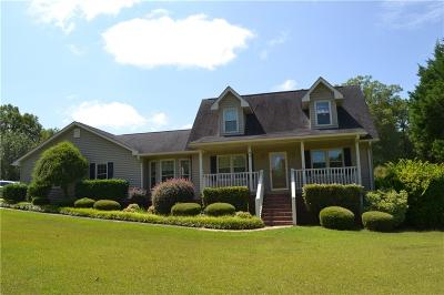 Abbeville County Single Family Home For Sale: 91 Westwood Road