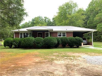 Six Mile Single Family Home For Sale: 159 Ridgeland Drive