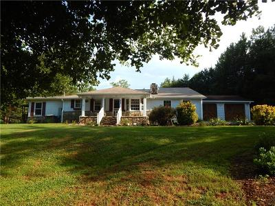 Six Mile Single Family Home For Sale: 201 Holliday Road