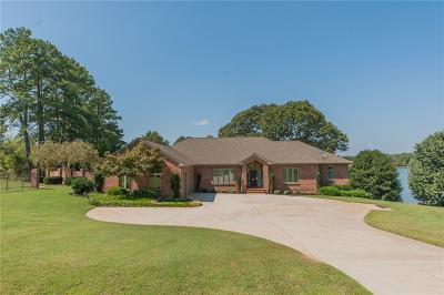 Lavonia, Martin, Toccoa, Hartwell, Lake Hartwell, Westminster, Anderson, Fair Play, Starr, Townville, Senca, Senea, Seneca, Seneca (west Union), Seneca/west Union, Ssneca, Westmister, Wetminster Single Family Home For Sale: 101 Diamond Point