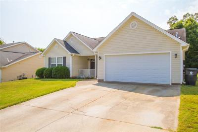 Anderson SC Single Family Home For Sale: $179,000