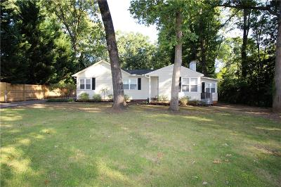 Anderson Single Family Home For Sale: 406 Boundary Street