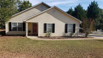 Anderson SC Single Family Home For Sale: $165,000