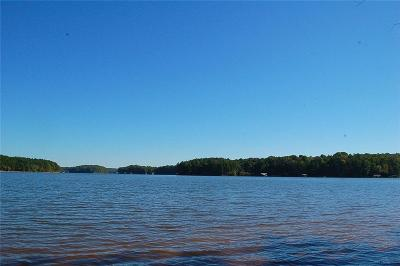 Lavonia, Martin, Toccoa, Fair Play, Westminster Residential Lots & Land For Sale: Lake Shore Road