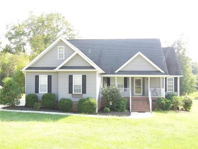 Anderson County Single Family Home For Sale: 208 Mahaffey Road