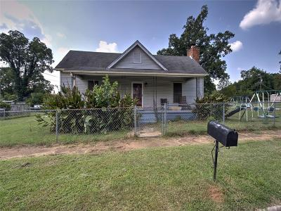 Anderson SC Single Family Home For Sale: $64,900