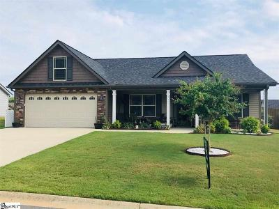 Anderson SC Single Family Home For Sale: $201,000