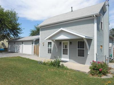 Rapid City SD Single Family Home Sold: $139,800