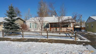 Rapid City SD Single Family Home For Sale: $118,000