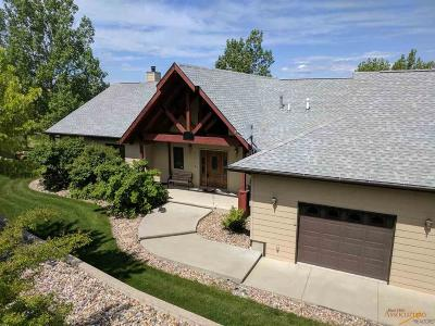 Rapid City SD Single Family Home For Sale: $575,000