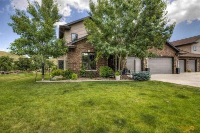 Rapid City Condo/Townhouse For Sale: 23776 Mulligan Mile