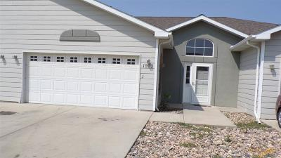 Rapid City Condo/Townhouse For Sale: 1923 Haycamp Ln