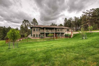 Rapid City Single Family Home For Sale: 23620 Wilderness Canyon Rd