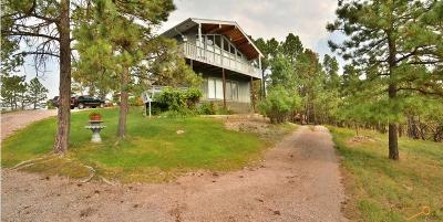 Rapid City Single Family Home For Sale: 6219 Sun Ridge Rd