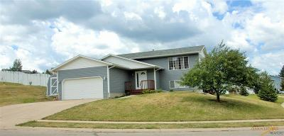 Spearfish Single Family Home U/C Take Back Ups: 1011 S 35th St