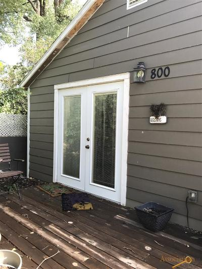 Rapid City, Box Elder, Piedmont, Black Hawk, Hermosa, Summerset, New Underwood Single Family Home For Sale: 800 Silver St