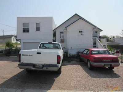 Rapid City, Box Elder, Piedmont, Black Hawk, Hermosa, Summerset, New Underwood Multi Family Home U/C Contingency: 1416 6th St