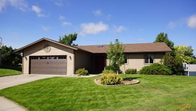 Rapid City Single Family Home U/C Contingency: 2513 Thames Cir