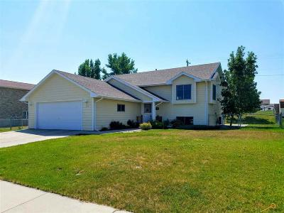Rapid City Single Family Home For Sale: 525 Hanover Dr