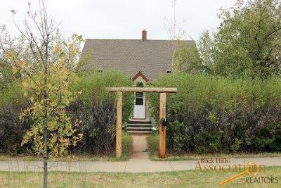 Spearfish Single Family Home For Sale: 706 University Ave