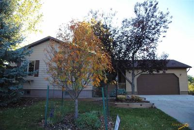 Rapid City, Hermosa, Box Elder, Black Hawk, Rapid Valley, Summerset, Piedmont, Piedmont Valley Single Family Home For Sale: 7345 Tanager Dr
