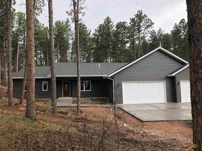 Rapid City Single Family Home For Sale: 13921 Neck Yoke Rd