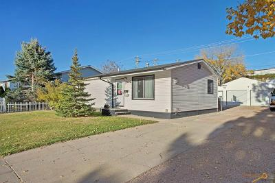 Rapid City Single Family Home For Sale: 1502 Racine