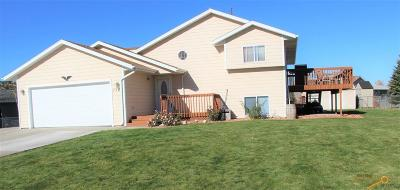 Rapid City, Hermosa, Box Elder, Black Hawk, Rapid Valley, Summerset, Piedmont, Piedmont Valley Single Family Home For Sale: 756 Packer Pl