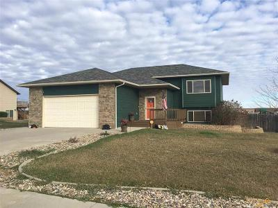 Rapid City, Hermosa, Box Elder, Black Hawk, Rapid Valley, Summerset, Piedmont, Piedmont Valley Single Family Home For Sale: 14826 Creekside Dr