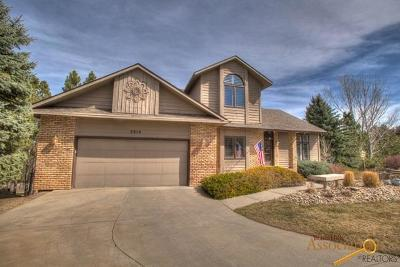Rapid City Single Family Home For Sale: 3810 Ponderosa Ct