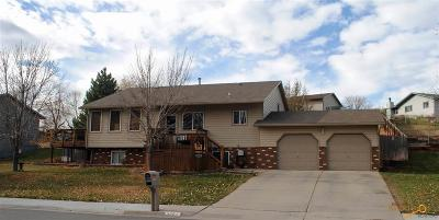 Rapid City, Hermosa, Box Elder, Black Hawk, Rapid Valley, Summerset, Piedmont, Piedmont Valley Single Family Home For Sale: 3301 Palmer Dr