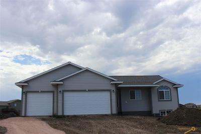Rapid City Single Family Home For Sale: 6039 Cloud Peak Dr
