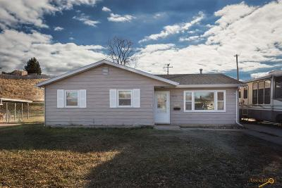 Rapid City Single Family Home For Sale: 3418 E Anaconda Rd