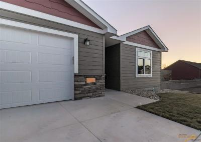 Rapid City Condo/Townhouse For Sale: Tbd Lot 14 B Hoefer Ave