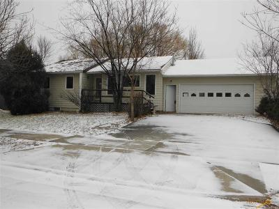 Rapid City Single Family Home For Sale: 5110 Saturn Dr