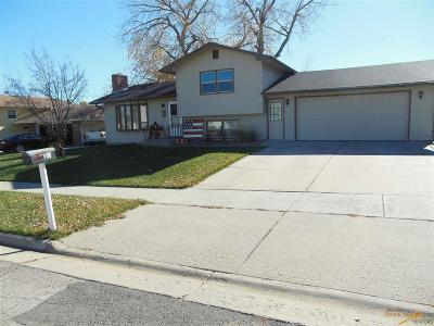 Rapid City Single Family Home For Sale: 19 Centennial