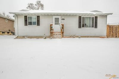 Rapid City Single Family Home For Sale: 618 E Madison