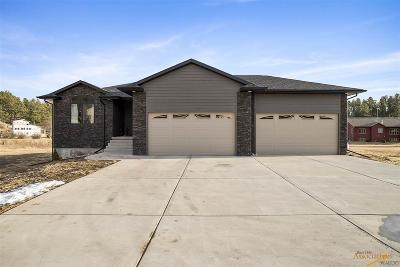Rapid City Single Family Home For Sale: 13475 Sawmill Rd
