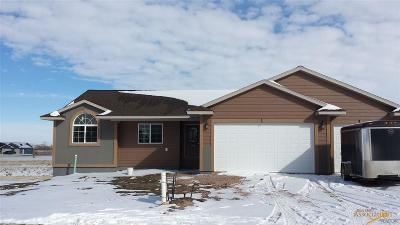 Summerset Single Family Home For Sale: Tbd High Meadows Dr