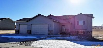 Rapid City, Hermosa, Box Elder, Black Hawk, Rapid Valley, Summerset, Piedmont, Piedmont Valley Single Family Home For Sale: 14817 Fox Trail