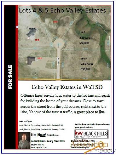 Residential Lots & Land For Sale: Lot #5 Eagle Ct