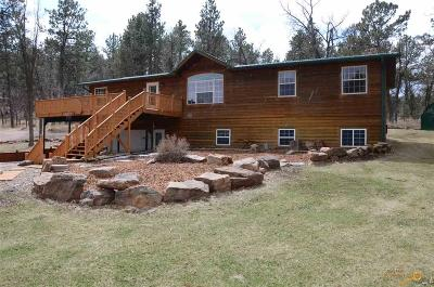 Rapid City Single Family Home For Sale: 23970 Saddle Notch Rd