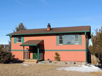 Rapid City Single Family Home For Sale: 10450 Nemo Rd