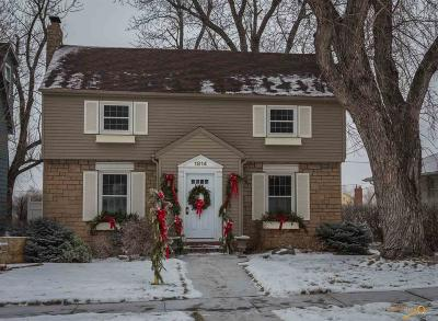 Rapid City Single Family Home For Sale: 1814 West Blvd