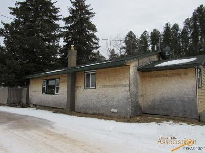 Custer Single Family Home For Sale: 708