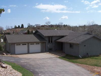 Rapid City Single Family Home For Sale: 4870 Cliff Dr